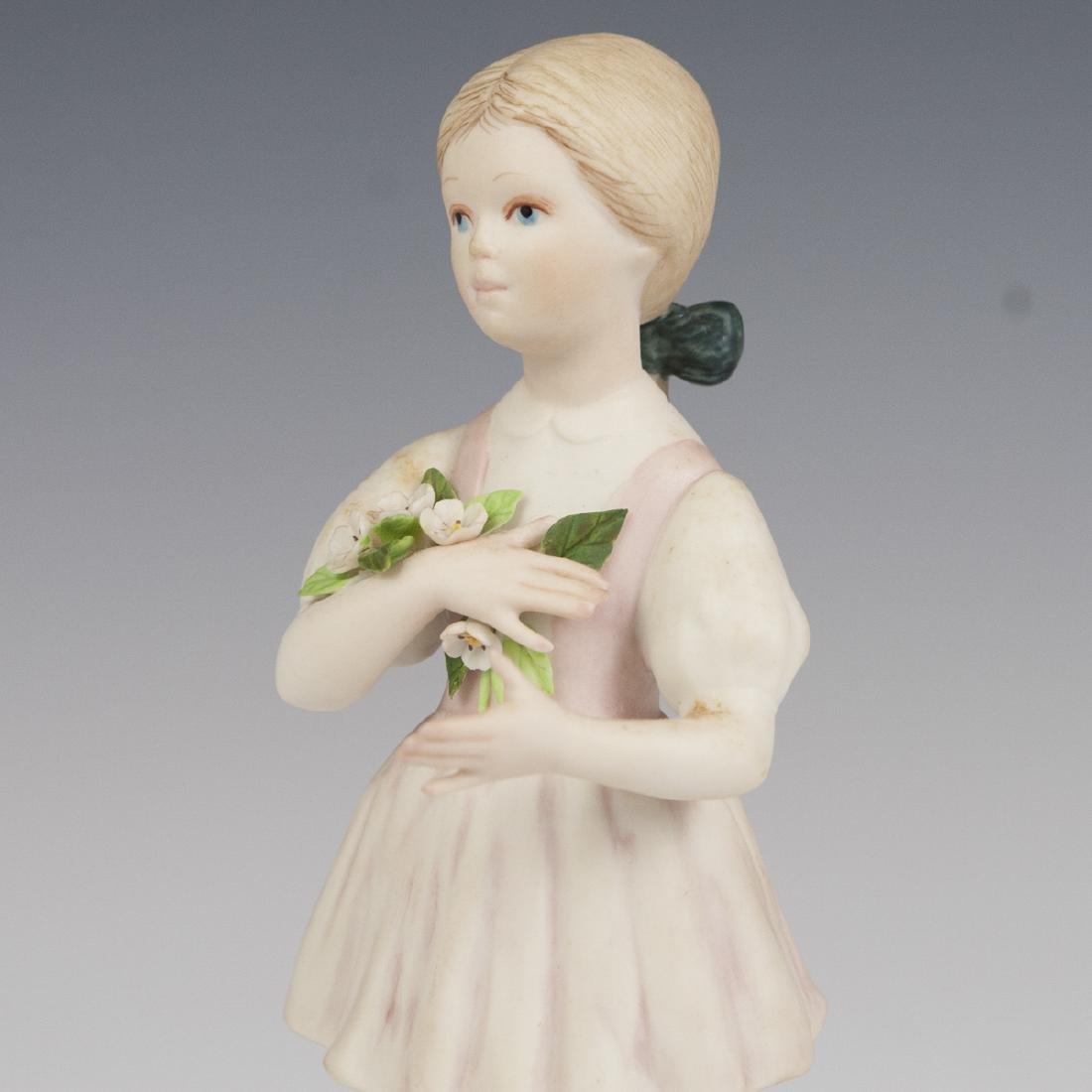 Sybis Bisque Porcelain Figurine - 2