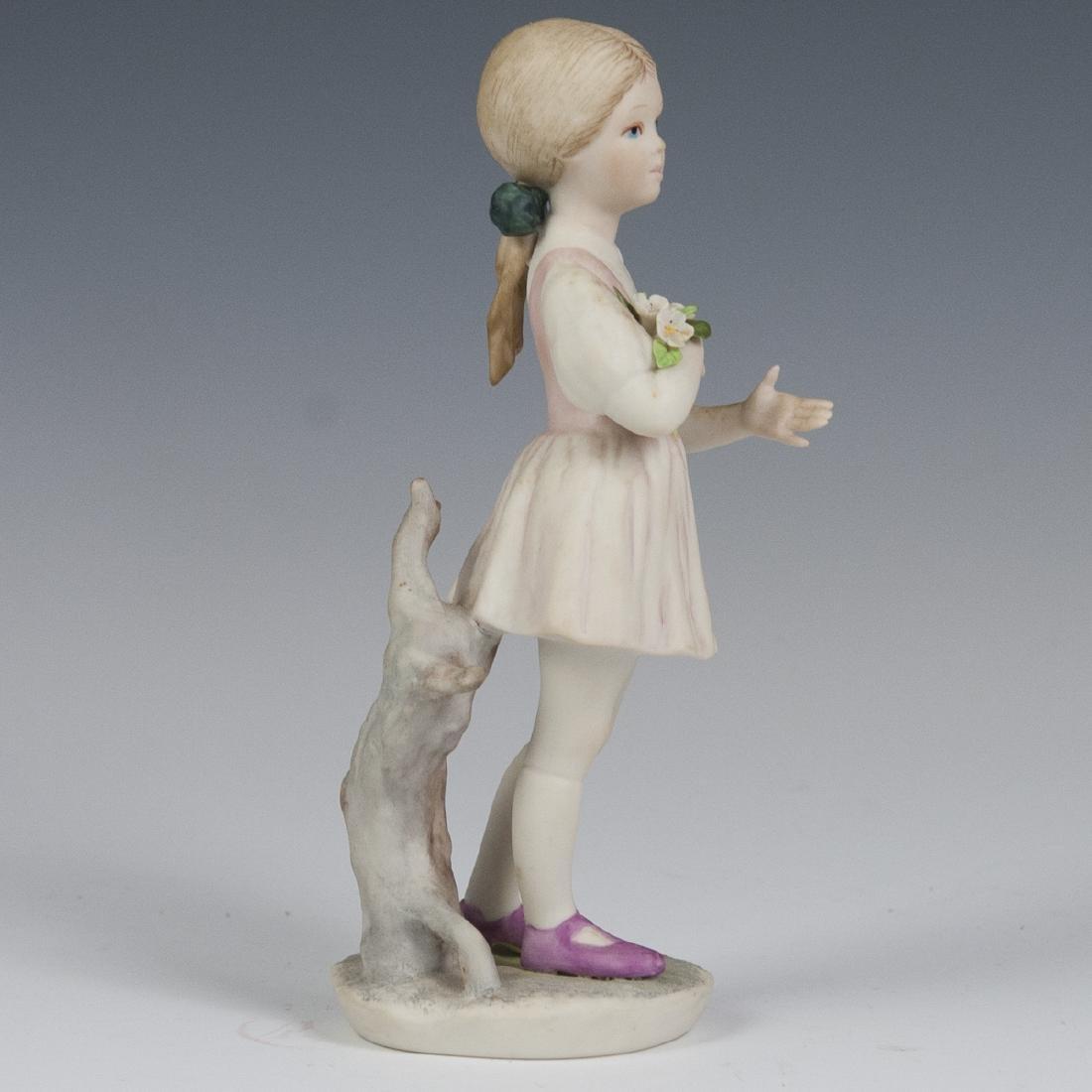 Sybis Bisque Porcelain Figurine - 4