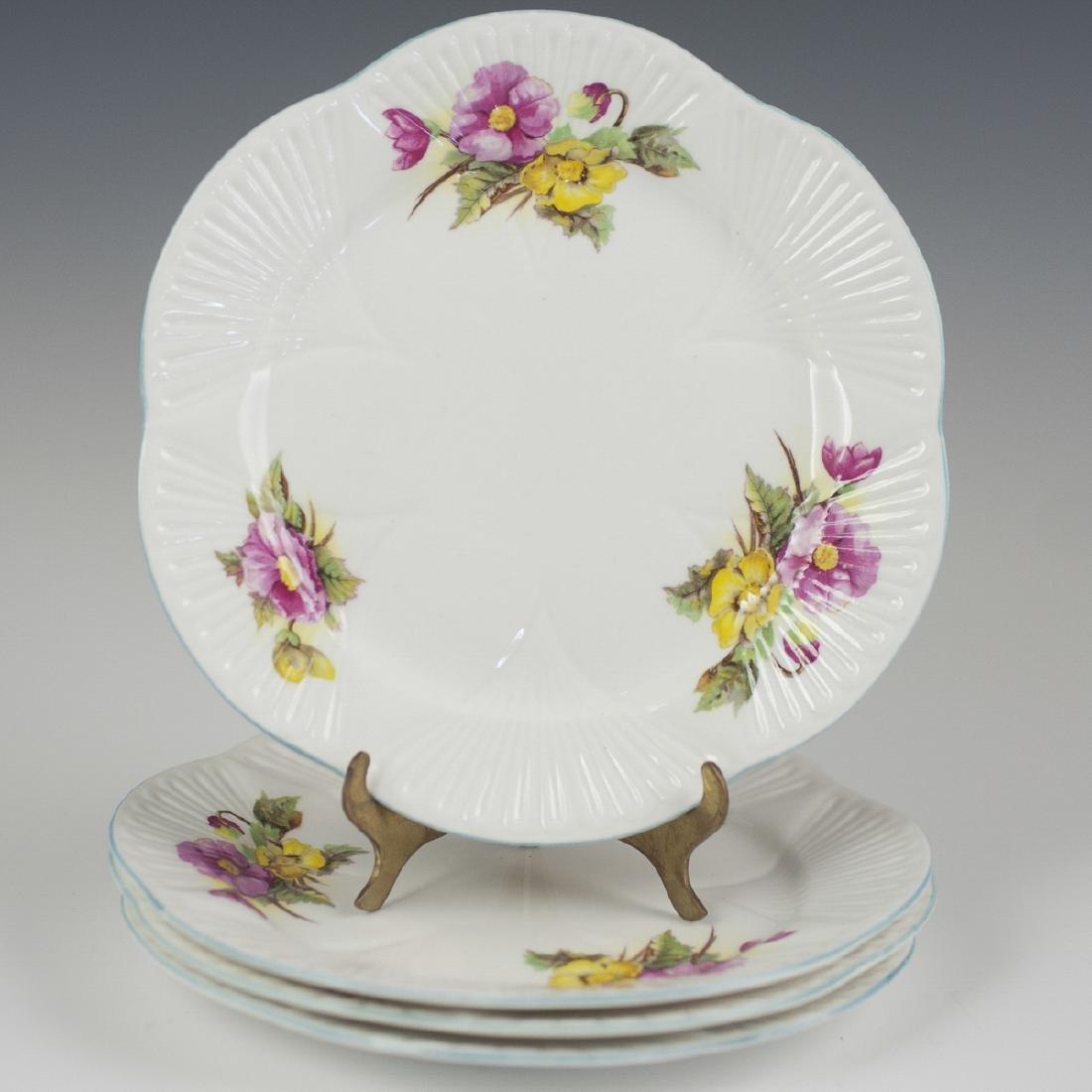 "Shelley ""Begonia"" Bone China Plates"