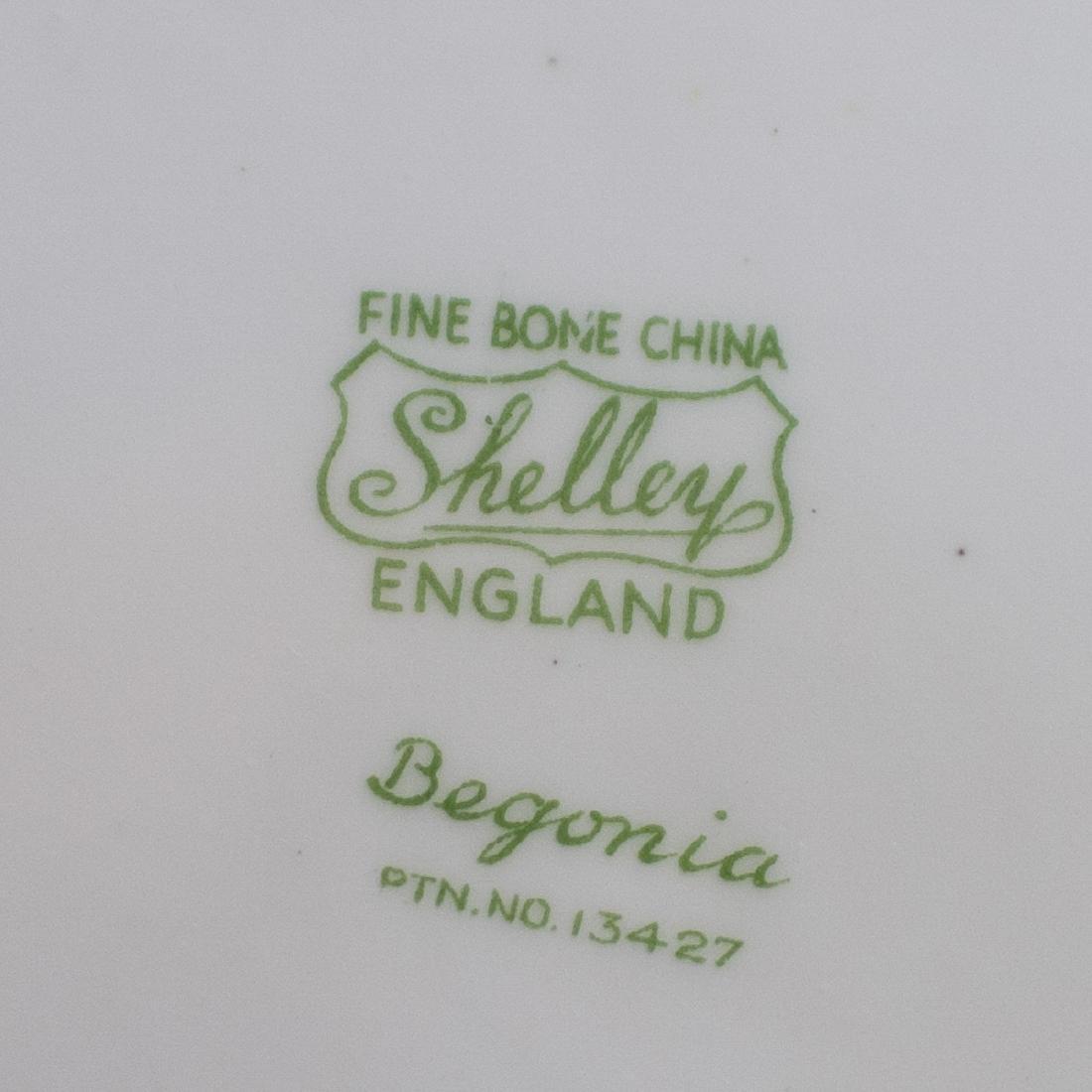 "Shelley ""Begonia"" Bone China Plates - 3"