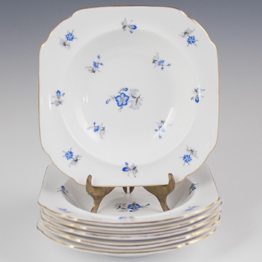 """Shelley """"Blue Charm"""" Porcelain Bowls"""