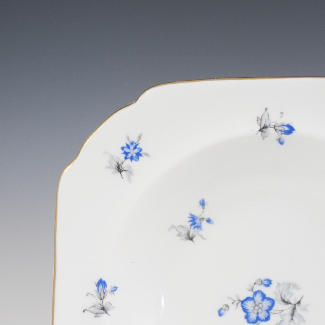 """Shelley """"Blue Charm"""" Porcelain Bowls - 2"""