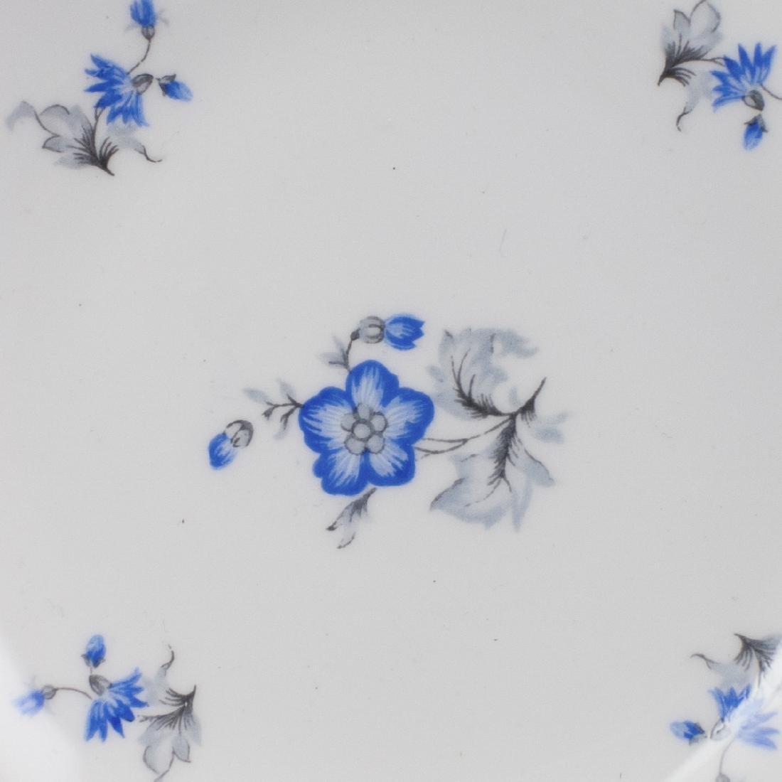 """Shelley """"Blue Charm"""" Porcelain Bowls - 4"""