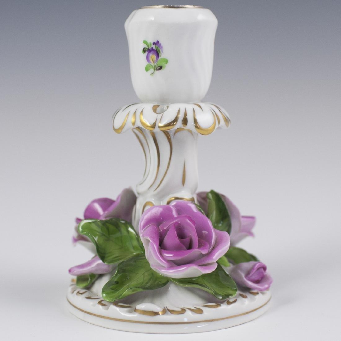 Herend Porcelain Candlestick