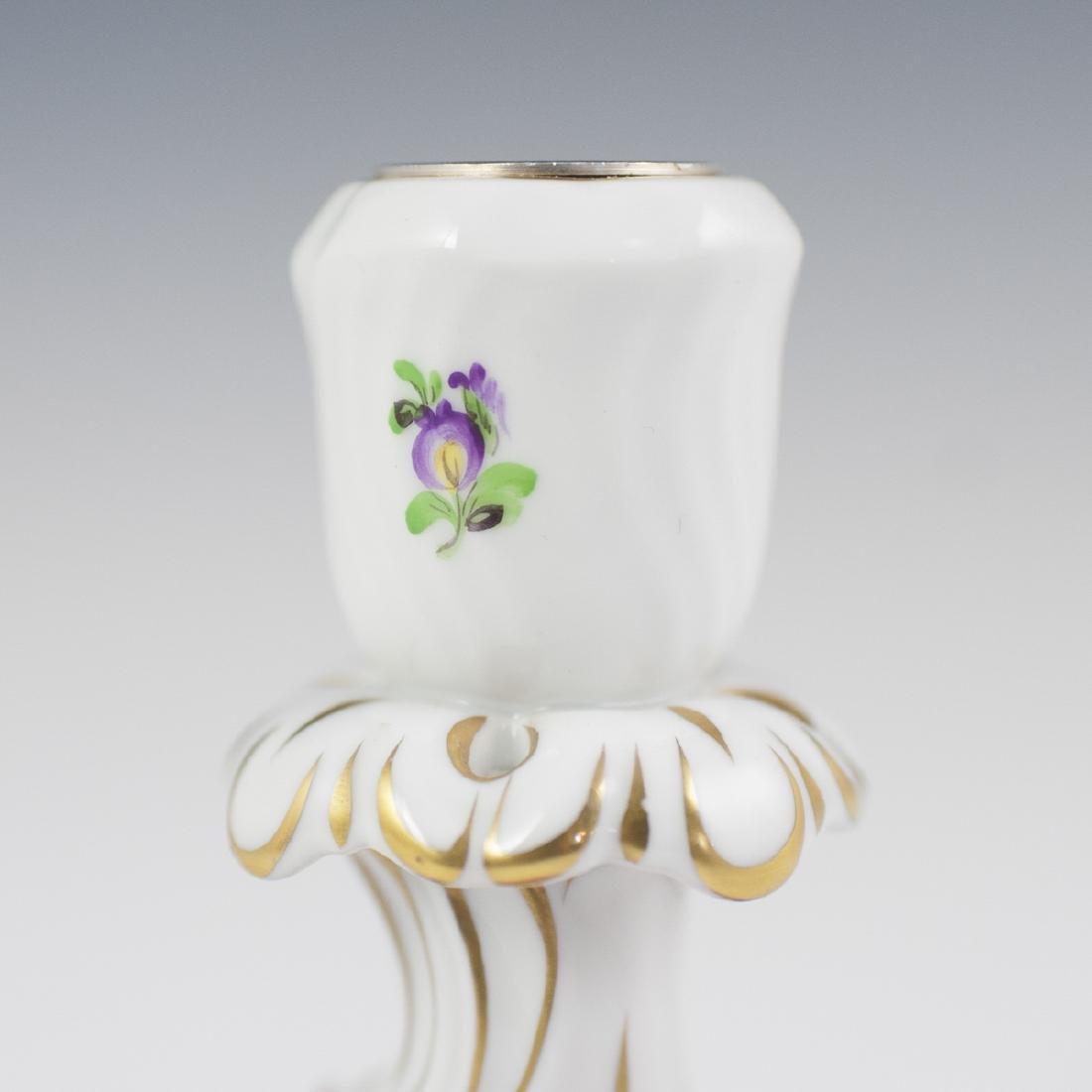 Herend Porcelain Candlestick - 2
