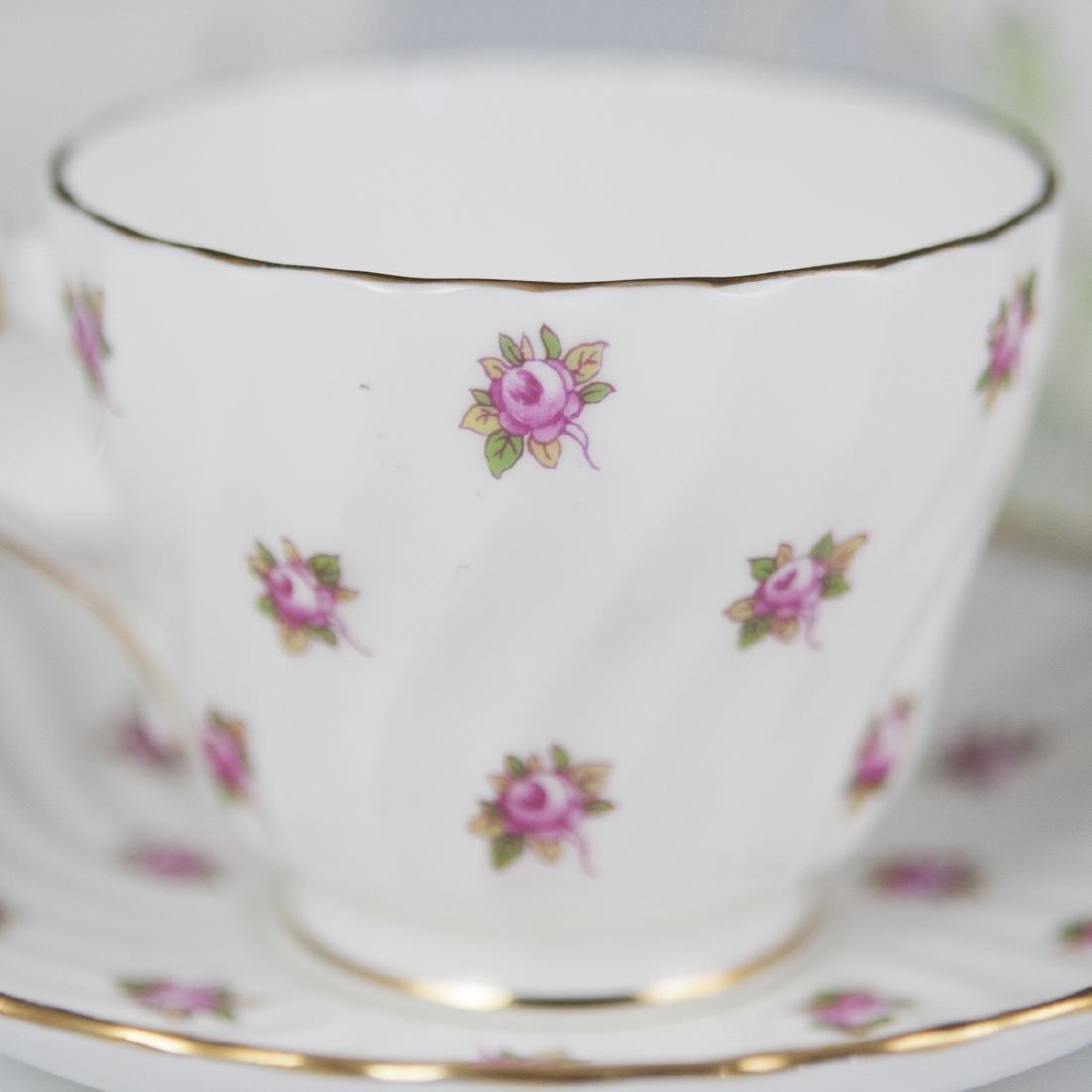 Vintage Porcelain Tea Cups - 2