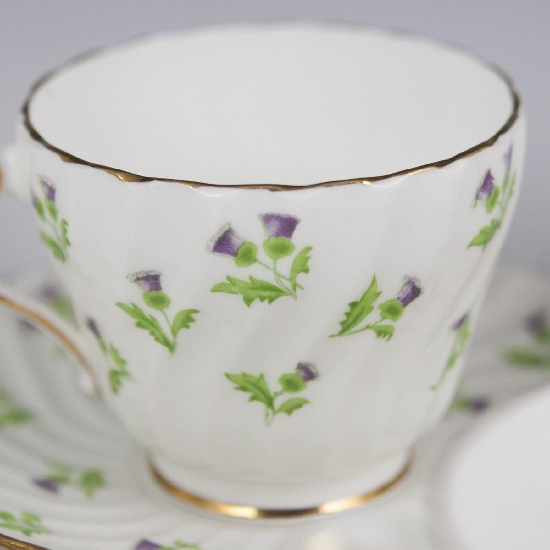 Vintage Porcelain Tea Cups - 3