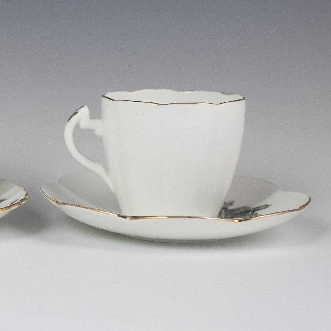 Vintage Porcelain Tea Cups - 6