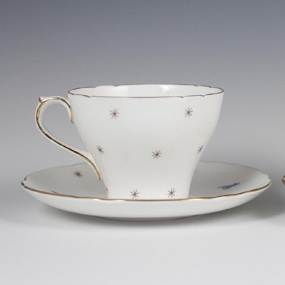 Vintage Porcelain Tea Cups - 7