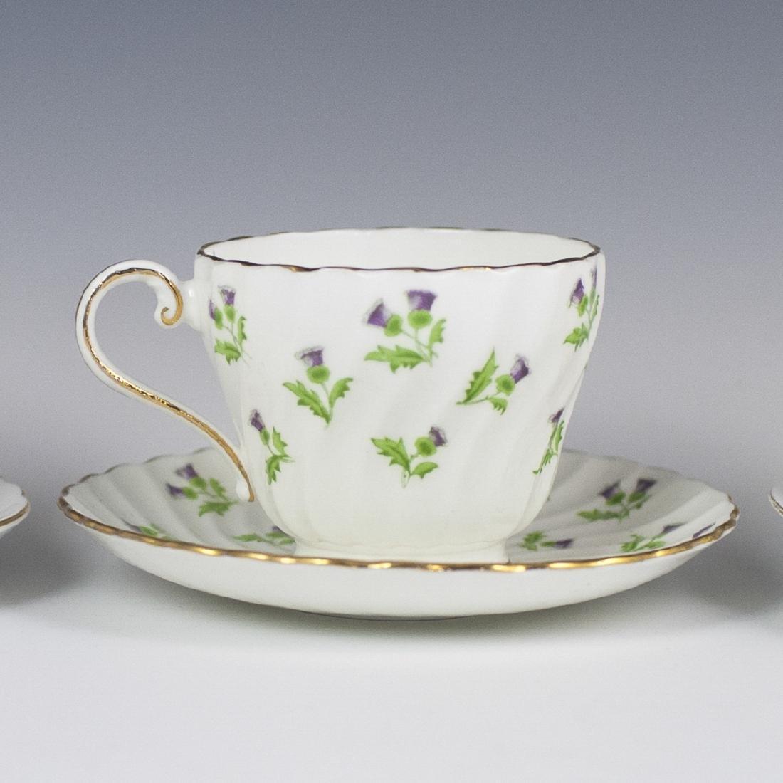 Vintage Porcelain Tea Cups - 8