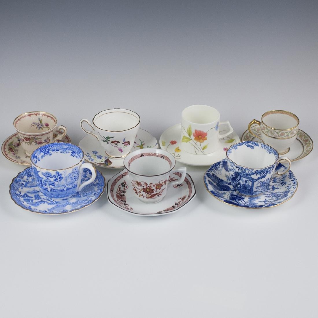 Vintage Porcelain Demitasse Cups