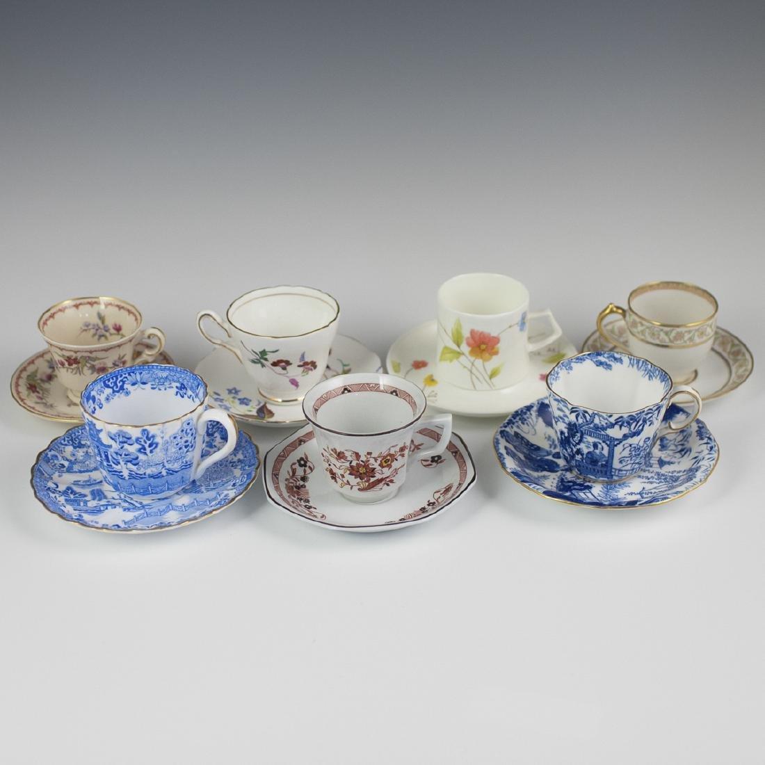 Vintage Porcelain Demitasse Cups - 2