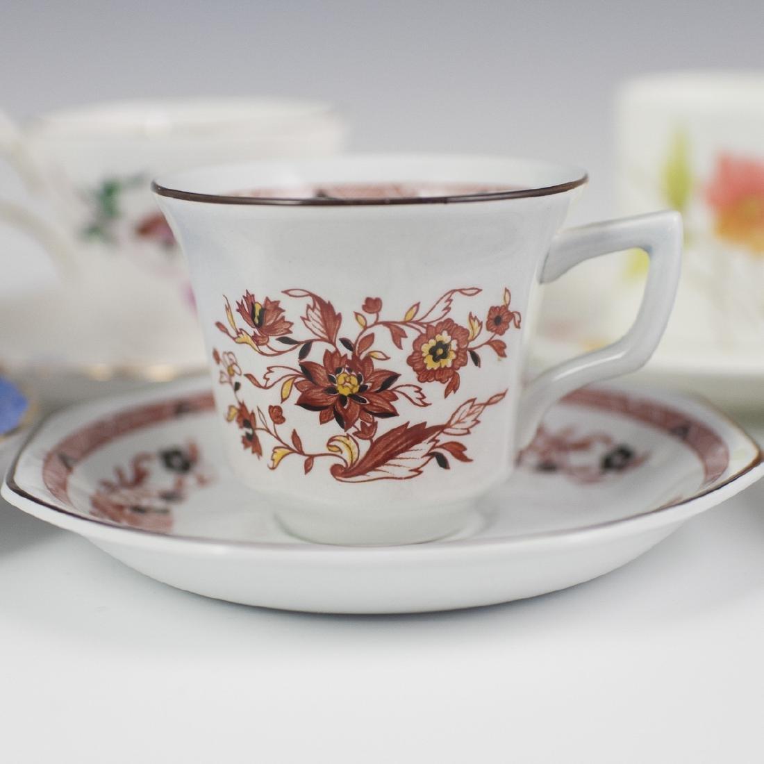 Vintage Porcelain Demitasse Cups - 4