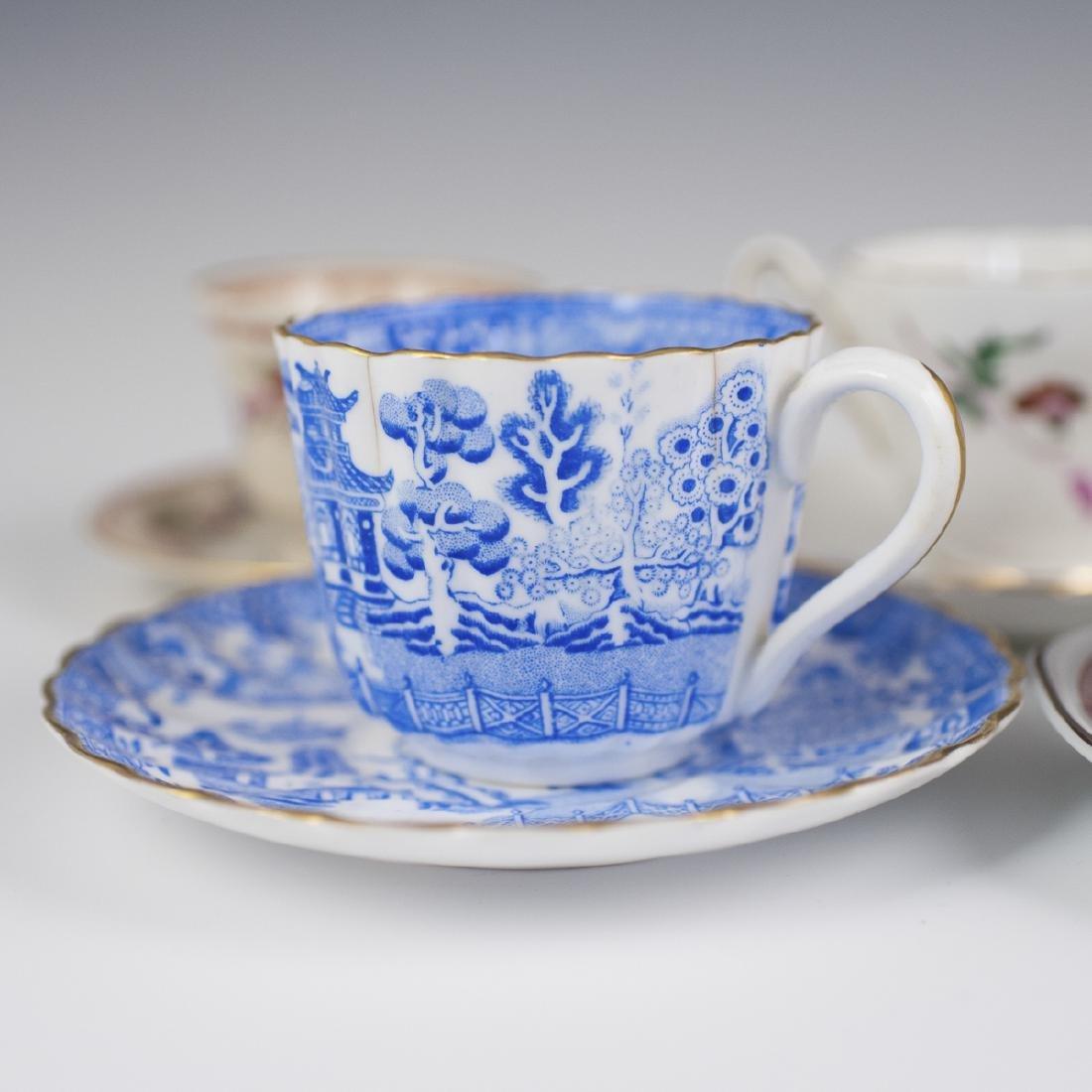 Vintage Porcelain Demitasse Cups - 5