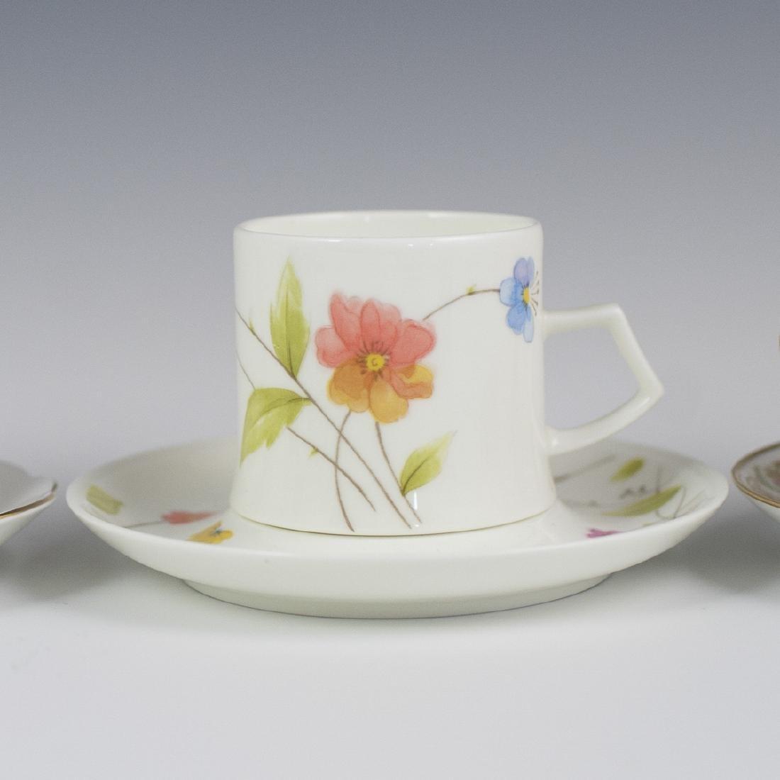 Vintage Porcelain Demitasse Cups - 8