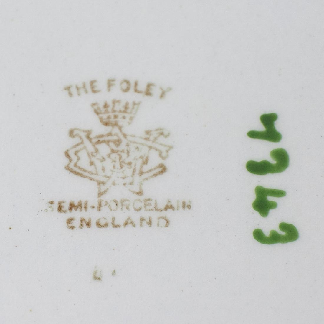 "Shelley ""Semi Porcelain"" Art Nouveau Wash Basin - 3"