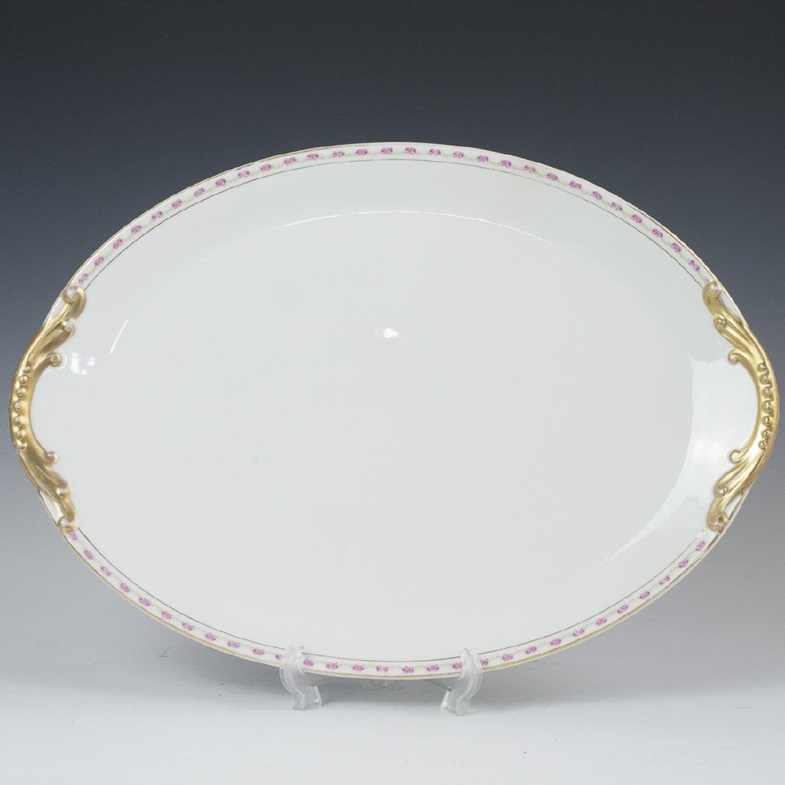 Paroutaud Freres Limoges Porcelain Platter