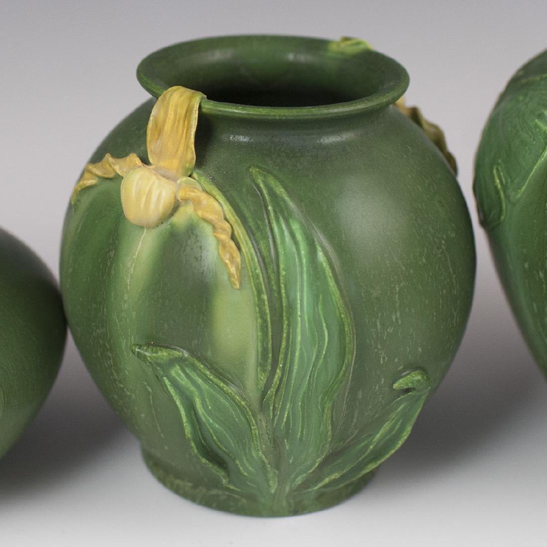 Ephraim Faience Pottery Vases - 4