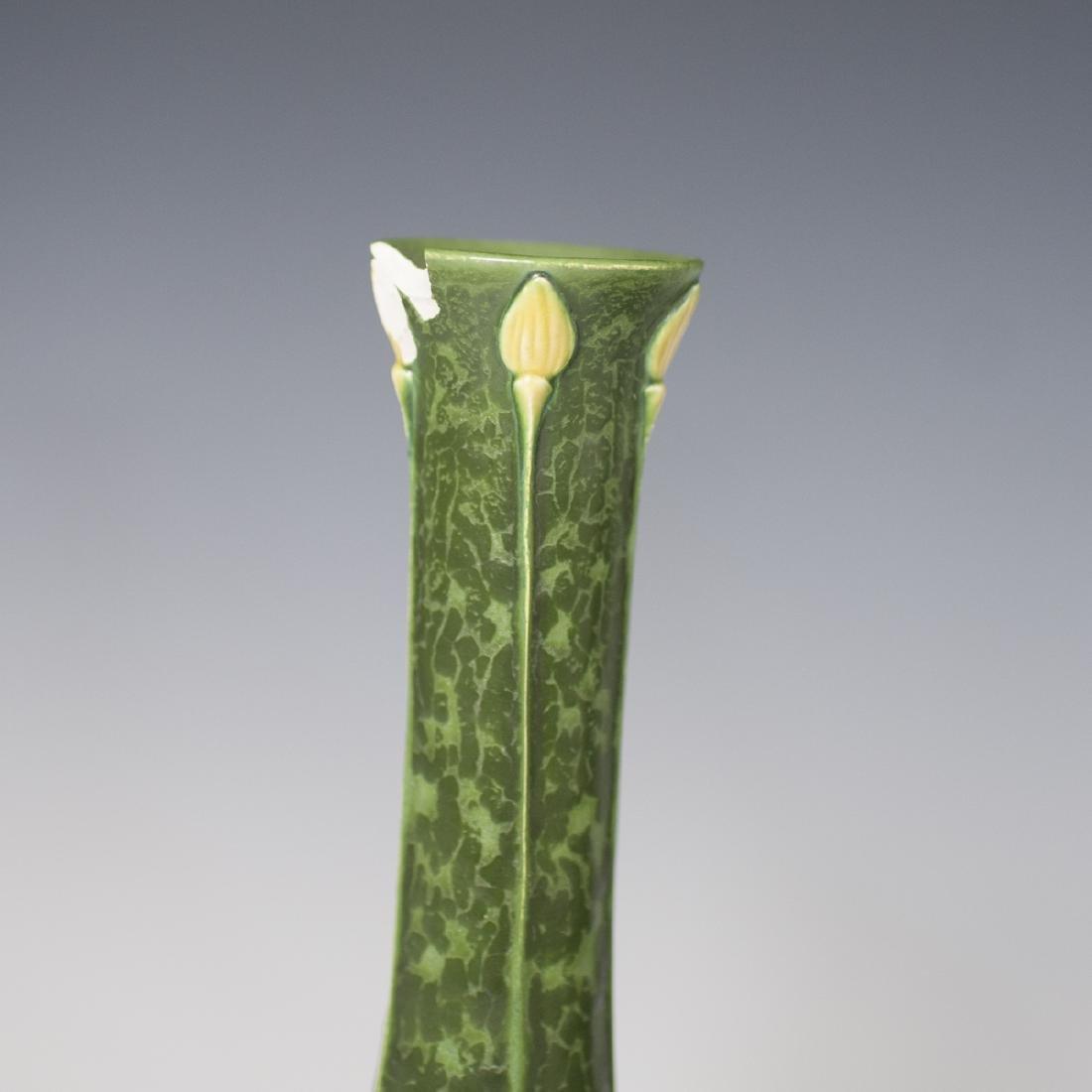 Ephraim Faience Pottery Vases - 2