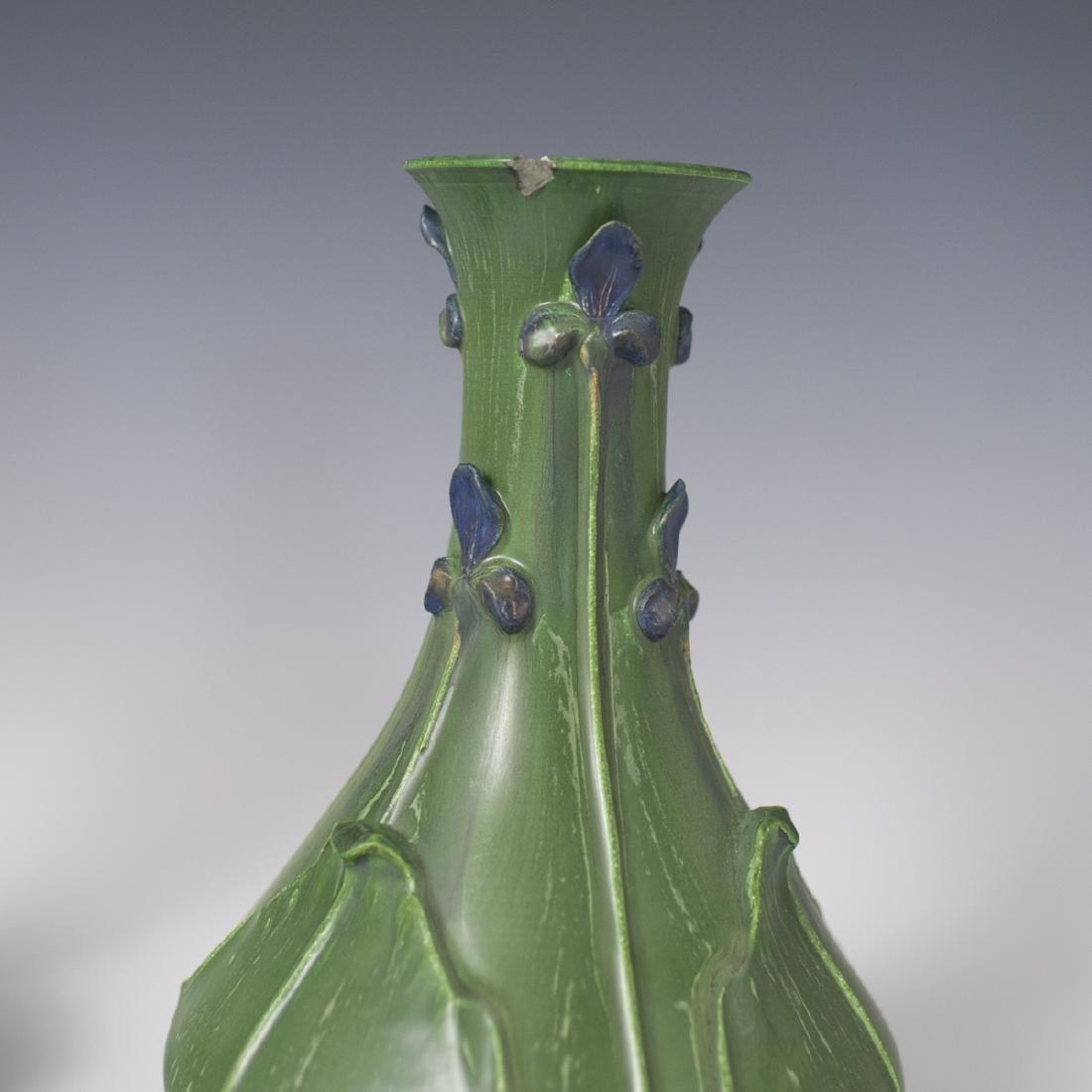 Ephraim Faience Pottery Vases - 5