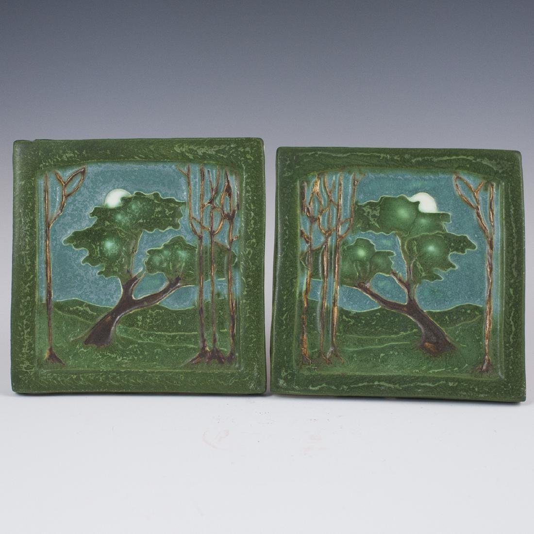 Ephraim Faience Pottery Tiles