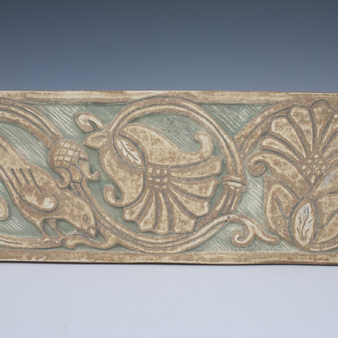 Vintage Pottery Tile - 2