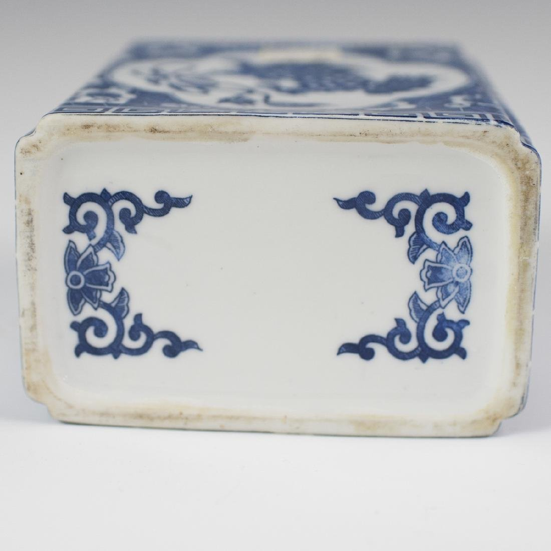 Chinese Porcelain Blue & White Bough Pot - 3