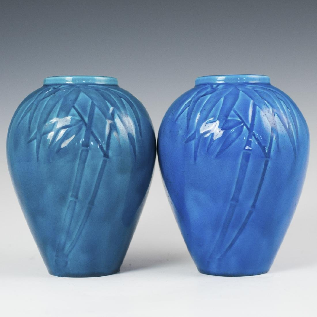 Chinese Turquoise Glazed Porcelain Vases