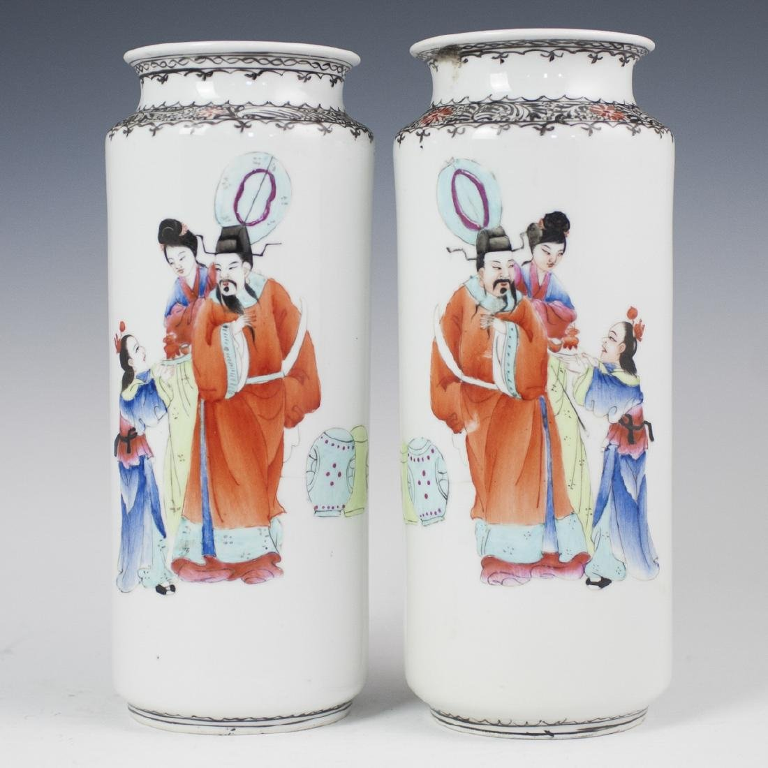 Chinese Porcelain Xiangtuiping Vases