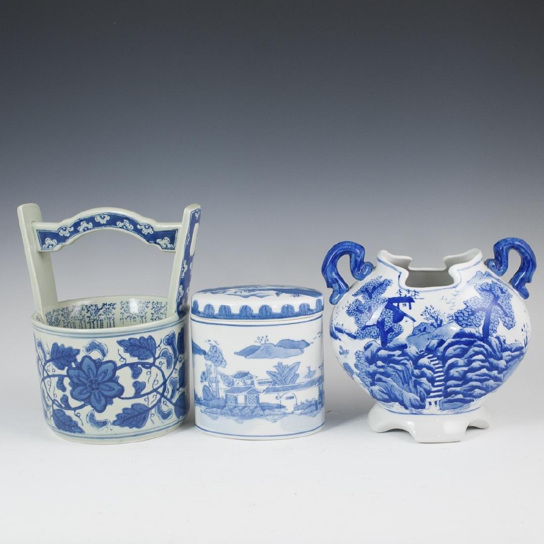 Decorative Chinese Blue & White Porcelain