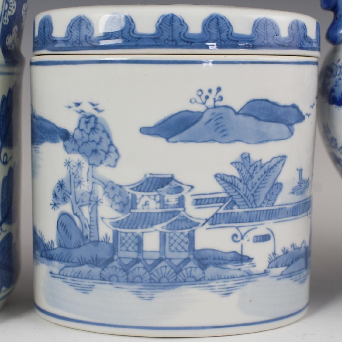 Decorative Chinese Blue & White Porcelain - 2