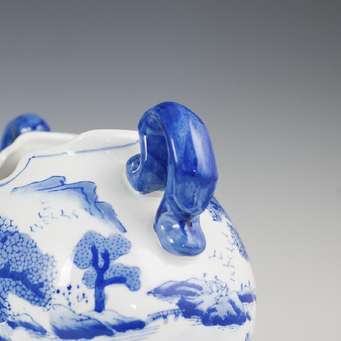 Decorative Chinese Blue & White Porcelain - 4