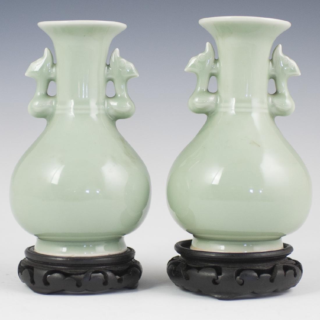 Chinese Celadon Vases