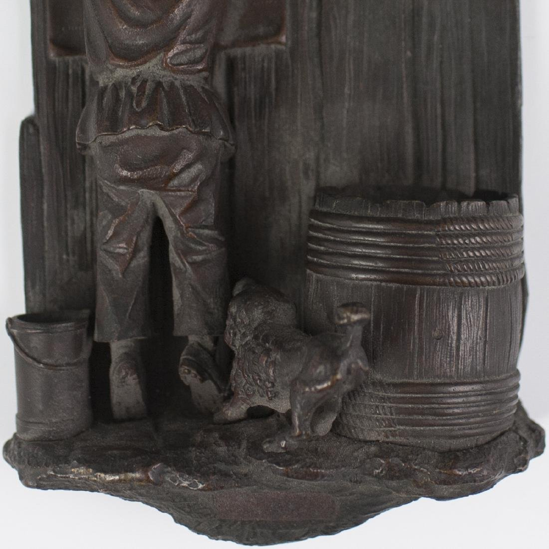 French Bronze Wall Sculpture - 2
