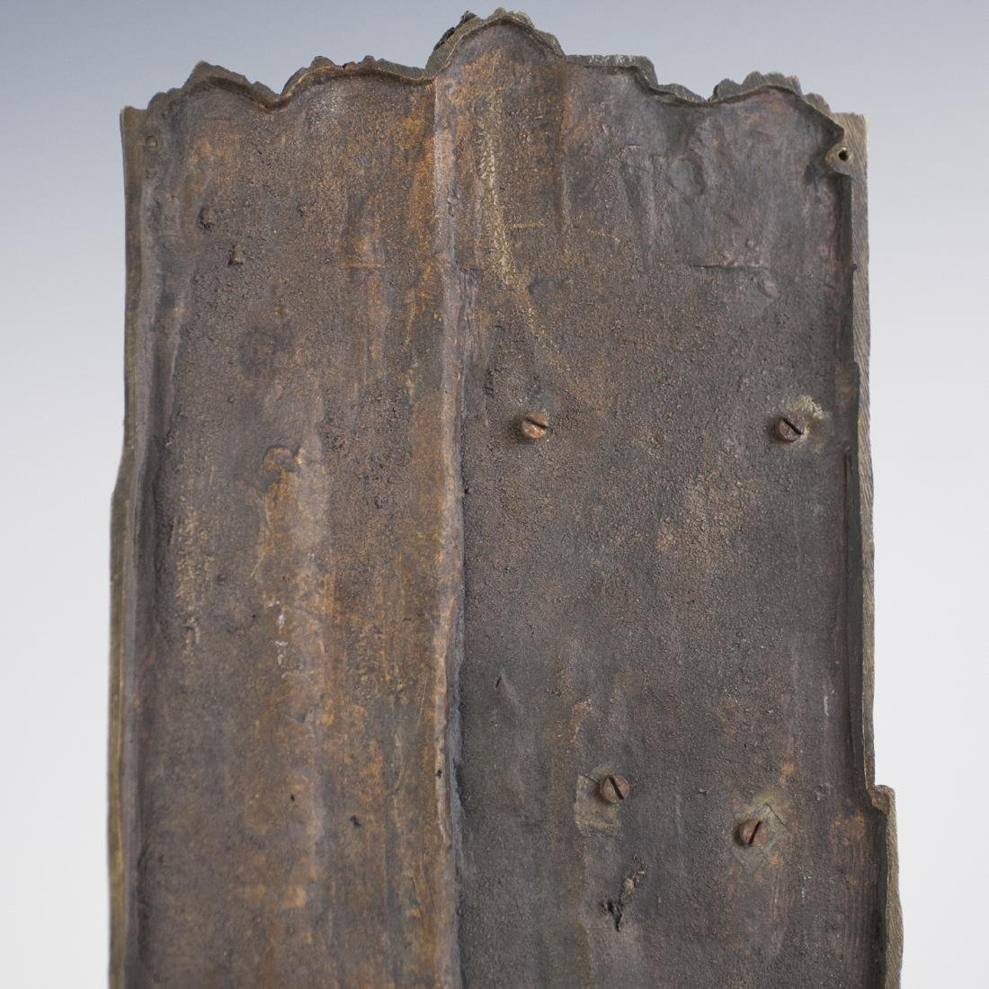 French Bronze Wall Sculpture - 5