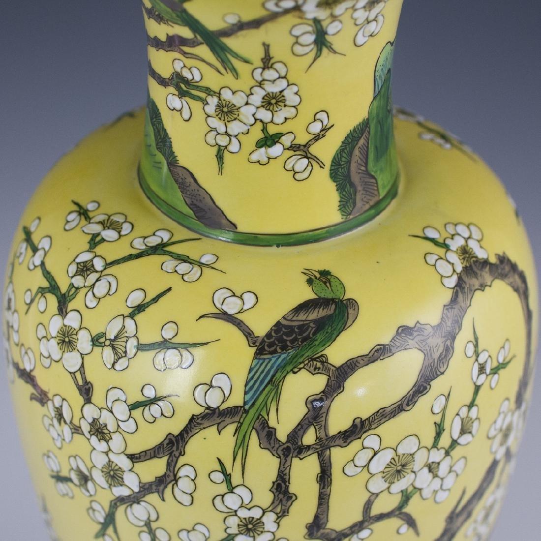 Porcelaine De Paris Chinese Export Style Lamp - 2
