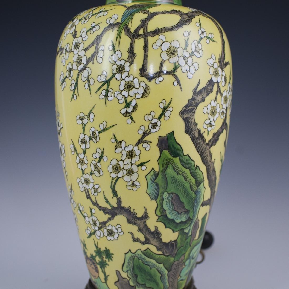 Porcelaine De Paris Chinese Export Style Lamp - 3