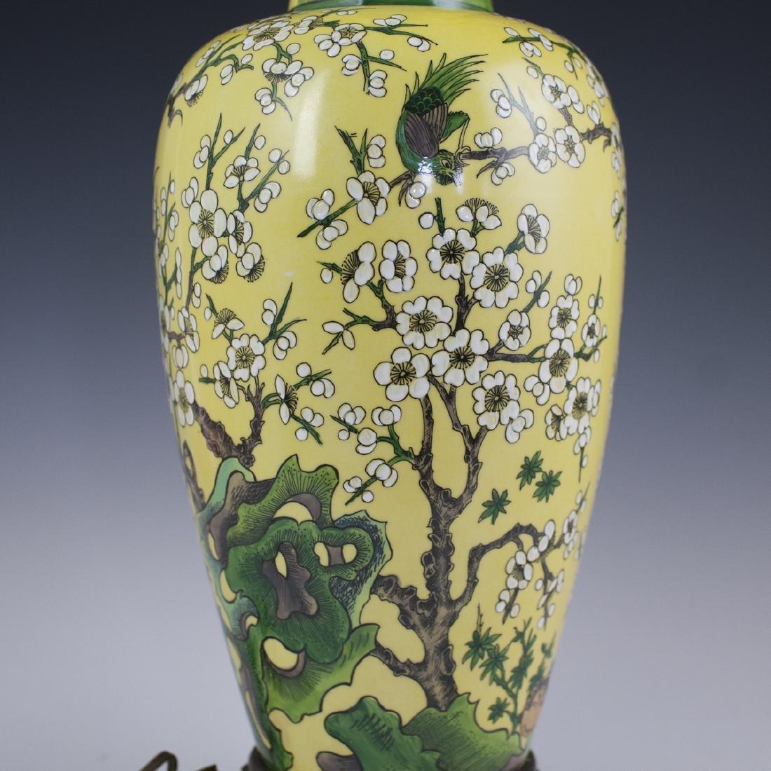 Porcelaine De Paris Chinese Export Style Lamp - 4