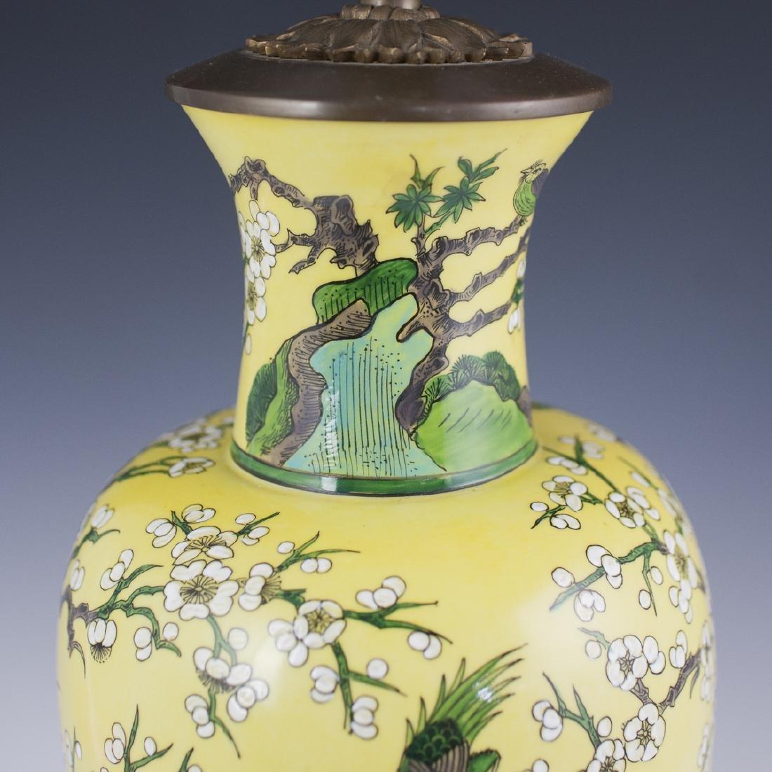 Porcelaine De Paris Chinese Export Style Lamp - 5