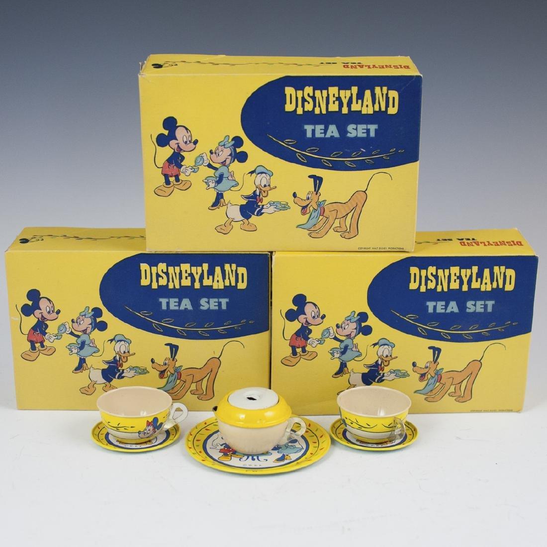 Disneyland J Chien & Co. Enameled Tea Sets