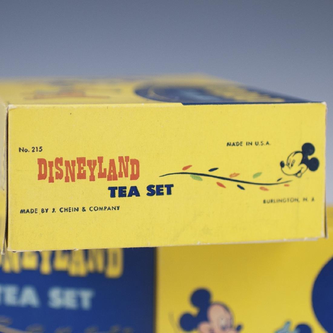 Disneyland J Chien & Co. Enameled Tea Sets - 3