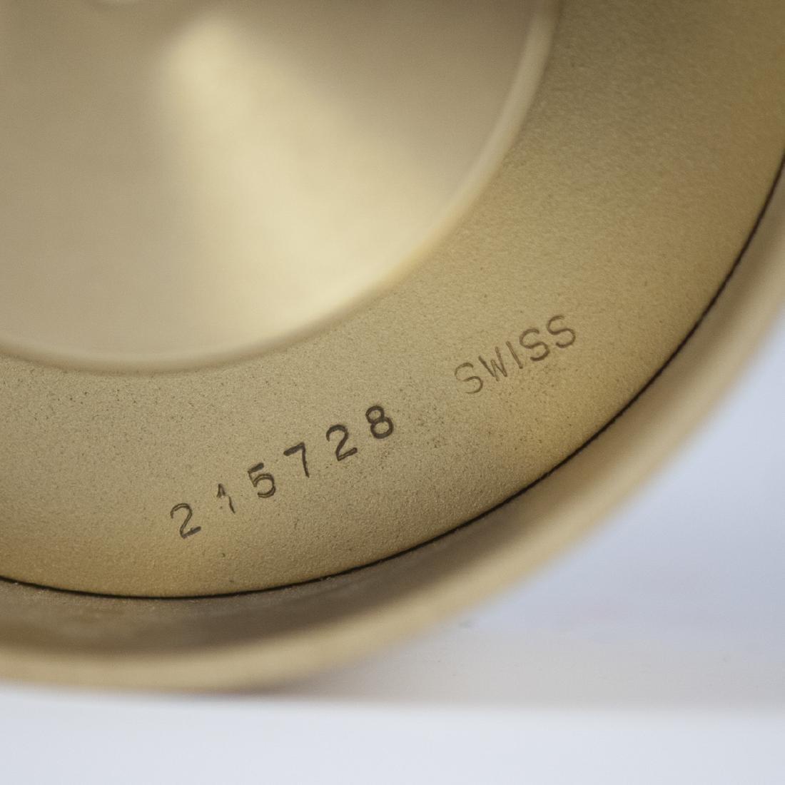 Tiffany & Co. Brass Clock - 4
