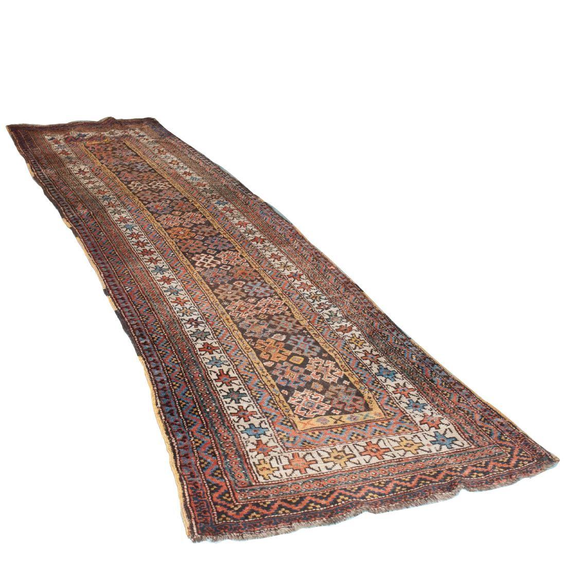 Possibly Caucasian Kazak Wool Runner Rug