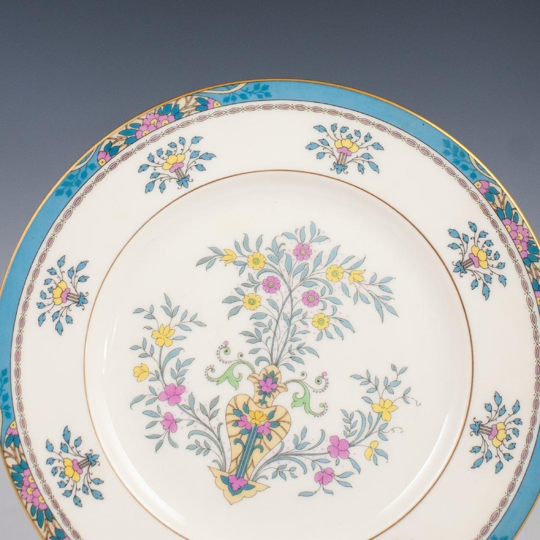 "(6) Lenox Porcelain ""Blue Tree"" Salad Plates - 2"