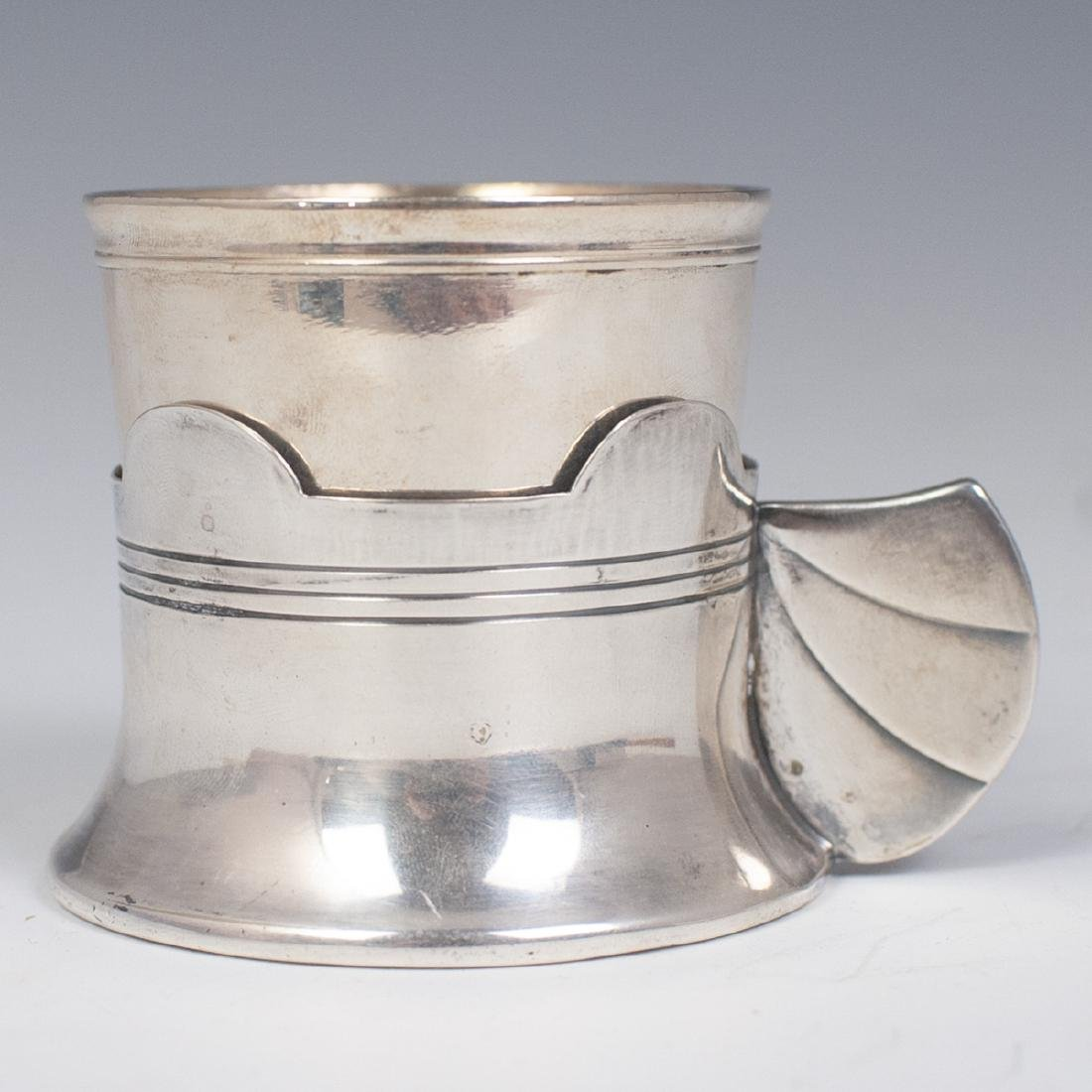 Christofle Silver Plated 2 Pc. Cup Set