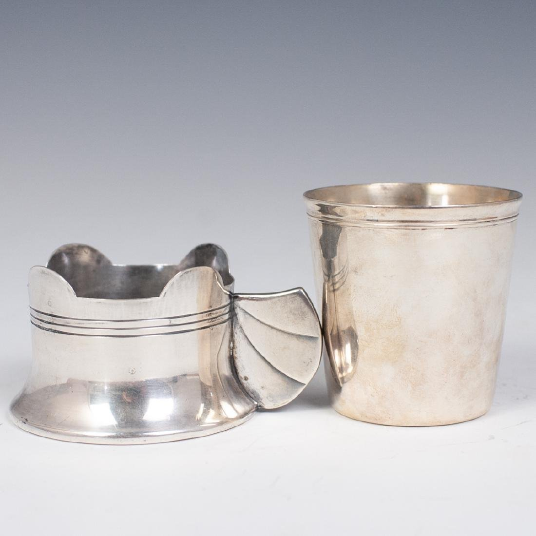 Christofle Silver Plated 2 Pc. Cup Set - 2