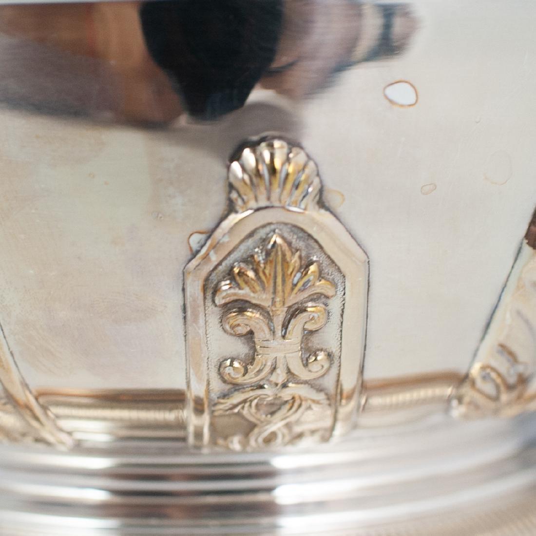 Antique Silver Plated Caviar Server - 2