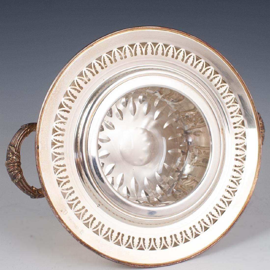 Antique Silver Plated Caviar Server - 3