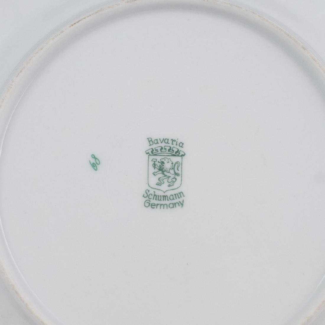 Schumann Porcelain Cocktail Plates - 3