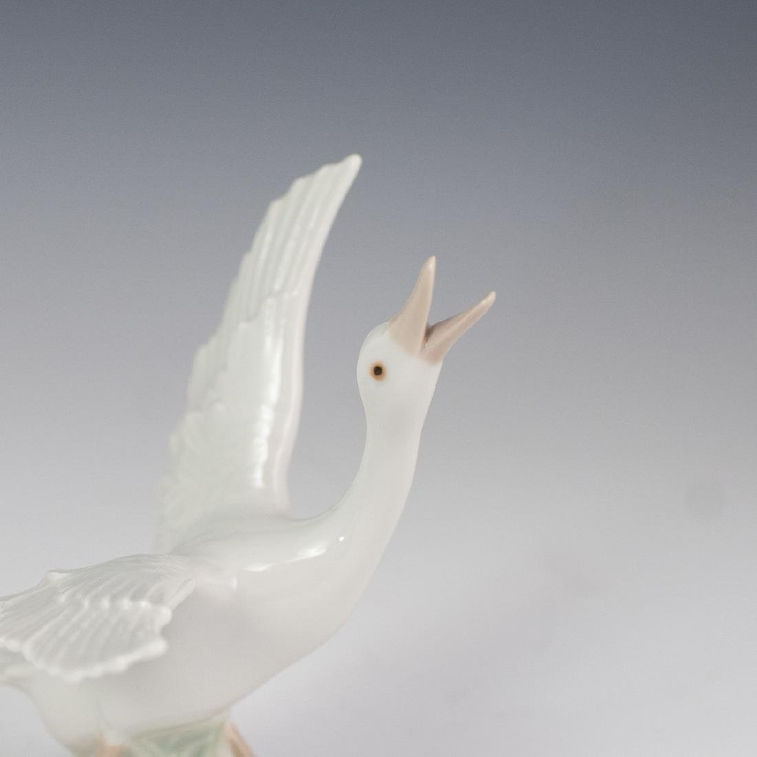 Lladro Porcelain Geese Figurines - 4